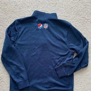 Under armour 1/4 zip pullover sweater Pepsi nfl